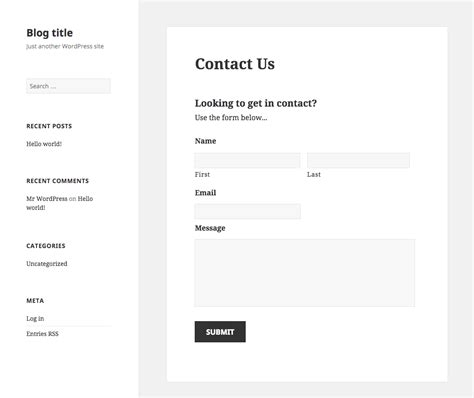 gravity forms email template the 7 best free and premium contact form plugins for