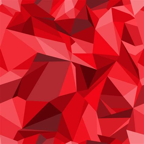 color pattern of red polygon background seamless pattern in modern style of