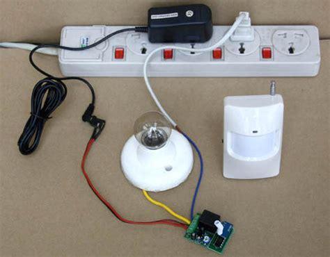 diy motion sensor light switch rfremotecontrol diy motion detector light