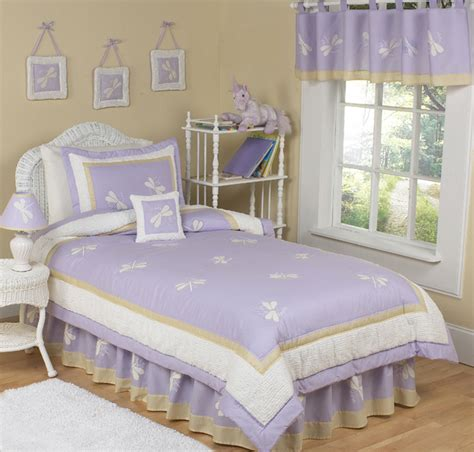 lavender twin bedding sweet jojo designs cheap purple dragonfly bug lavender kid