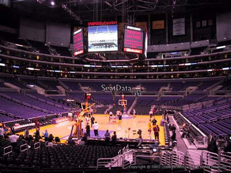 Section 115 Staples Center by Clippers Lakers Staples Center Section 115 Rateyourseats