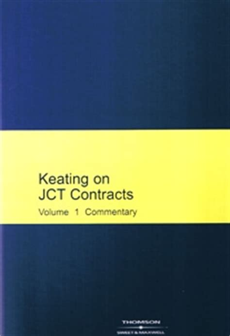 jct design and build contract guidance keating on jct contracts free postage