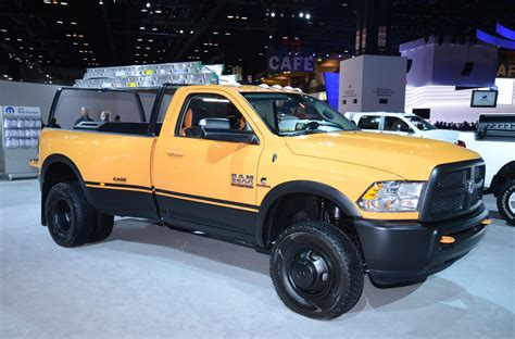 concept work truck ram 3500 dually work truck shows up in chicago quot pics quot