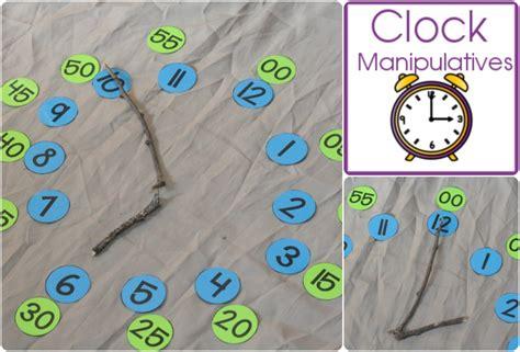 printable clock manipulative clock manipulatives royal baloo