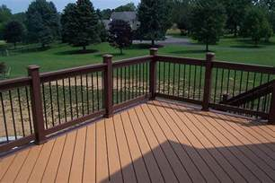 Patio Handrail by Deck Railings Pictures Custom Deck Railing Spindles And