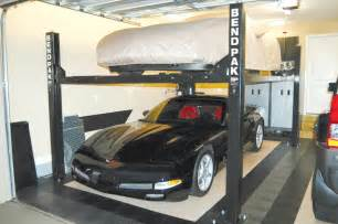 home garage car lift home garage lifts with bendpak rod authority