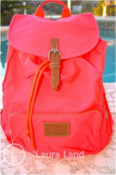 10 Cutest Victorias Secret Pink Items by Secret Pink Backpack Bag Neon Coral Tote