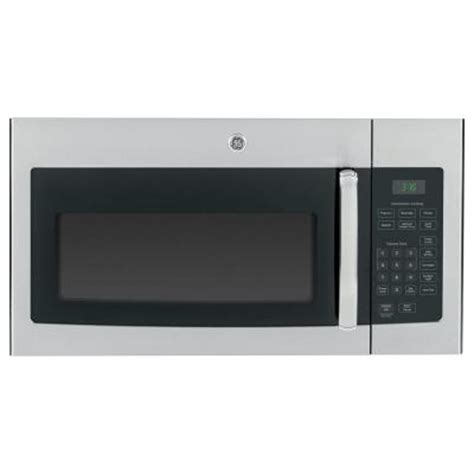 ge 1 6 cu ft the range microwave in stainless steel