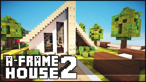 a frame house pictures minecraft small a frame house 2 youtube