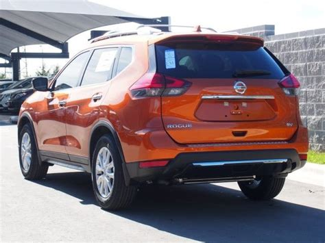 orange nissan rogue 5n1at2mtxhc763547 nissan rogue monarch orange with 10