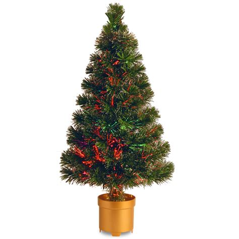 fibre optic tree base national tree company 32 quot fiber optic evergreen firework