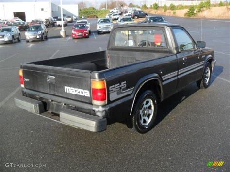 1988 mazda b2200 black 1988 mazda b series truck b2200 se5 regular cab