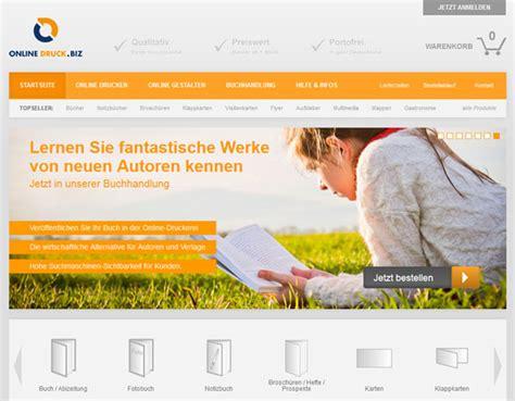 Online Druck Biz by Online Druck Mit Neuem Online Shop Online Druck Biz