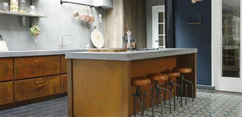 keuken hout en beton keukeninspiratie keukens van staal hout beton nieuws
