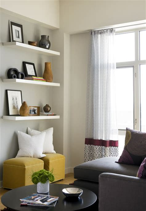 What To Put On Living Room Shelves how to decorate your living room with floating shelves