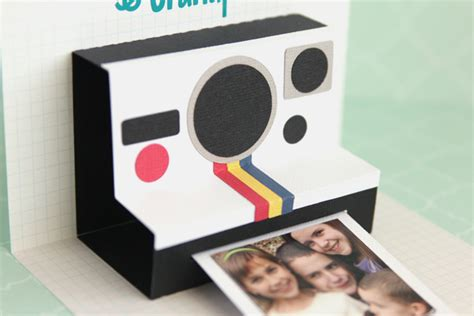 Diy Polaroid Pop Up Card Template by Silhouette America Page 32 Do It Yourself Do It