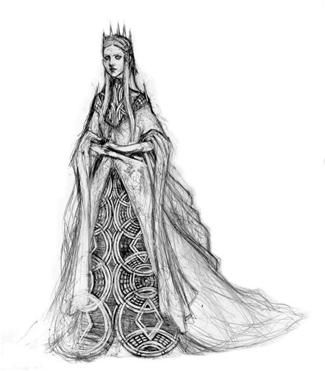 wicked queen concept sketch by sweet bread on deviantart