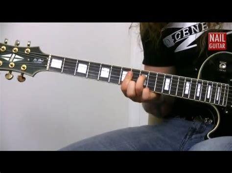tutorial guitar metal metal guitar riff lesson taberah guitarist guest