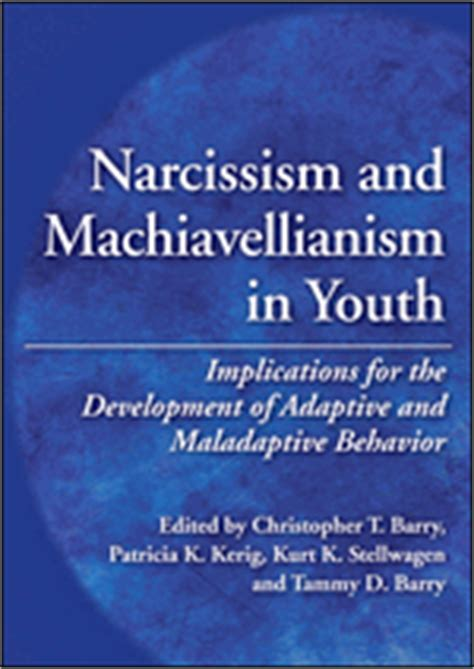 machiavellianism the psychology of manipulation books narcissism and machiavellianism in youth implications for
