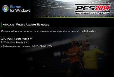 Pes 2018 Pc Lengkap Dengan Patch Dvd Offline Update pes 2014 1 16 reloaded