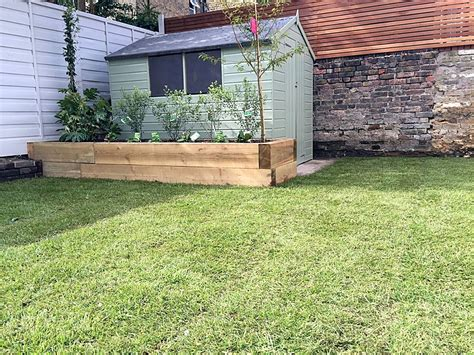 Low Shed by Garden Garden Gardens From