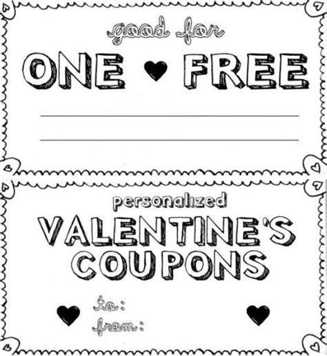 free printable love coupon maker free printable valentine s day love coupons for him