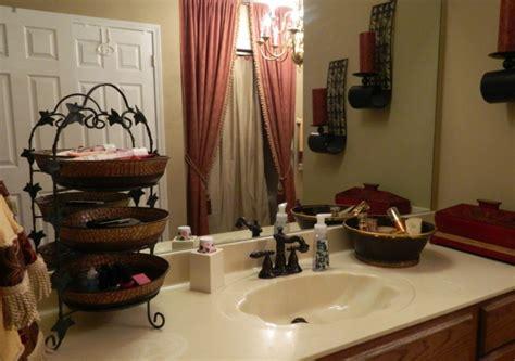 rote badezimmer ideen 22 badezimmer ideen f 252 r eine rustikale gem 252 tlichkeit
