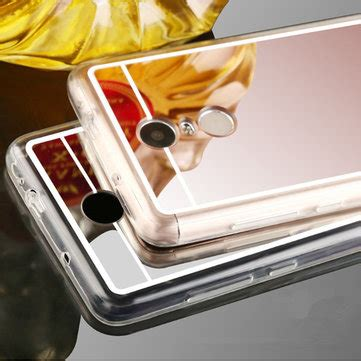 Cover Casing Mirror Marvel Tpu Silicon Xioami Redmi Note 4x luxury mirror surface plating soft tpu protection for xiaomi redmi note 4 sale banggood