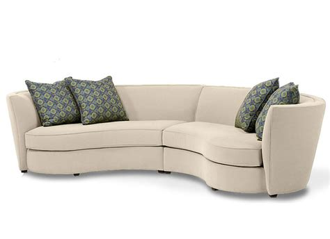unique sectionals custom curved shape sofa avelle 232 fabric sectional sofas