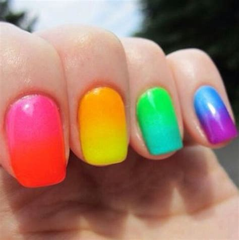 Colorful Nail by 17 Best Images About Colourful Nails On Nail