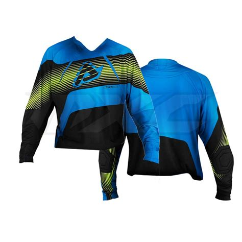 black motocross jersey acerbis motocross jersey mx x flex black blue im motocross
