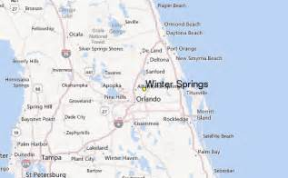 winter springs weather station record historical weather