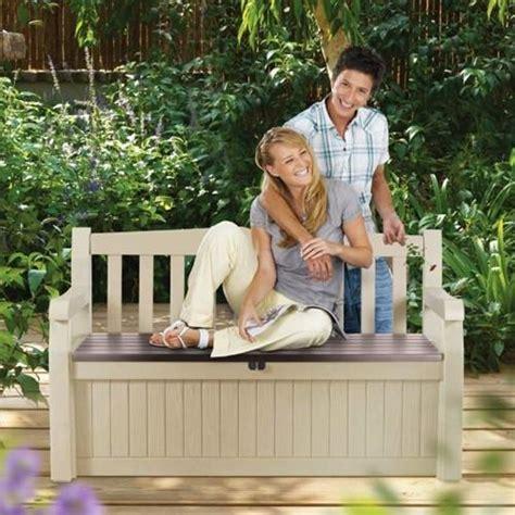 eden garden bench keter eden garden outdoor storage bench the home shoppe