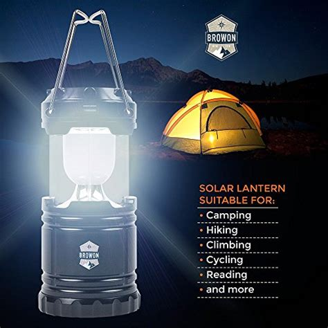 Cing Emergency Lantern Led Kualitas Premium best cing lantern solar rechargeable led light by browon premium grade sturdy materials