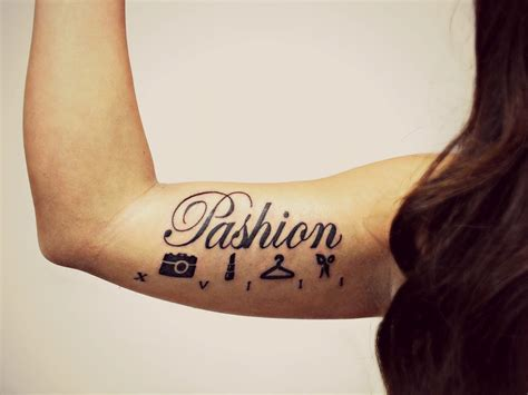 fashion tattoo i like the take here on quot fashion quot it is after all
