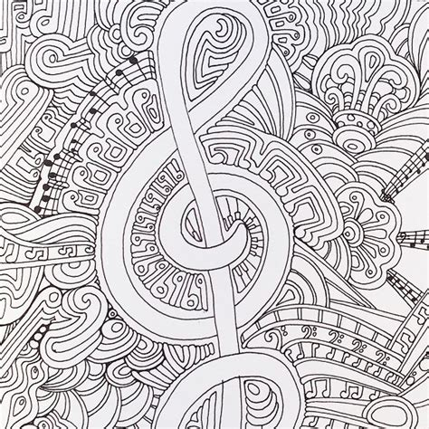 zen coloring books for adults a musical page from color me happy part of the zen