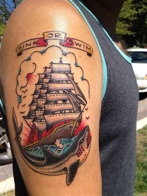 sinking ship tattoo collection of 25 skulls and sinking ship tattoos