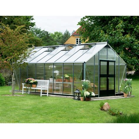serre de jardin en promo serre de jardin 21 4m 178 en polycarbonate gardener juliana