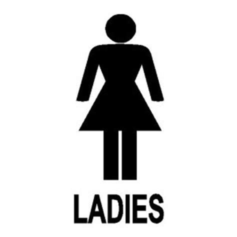 ladies bathroom the gallery for gt women only restroom sign