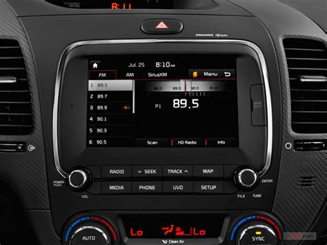 Kia Forte Audio System Kia Forte Prices Reviews And Pictures U S News World