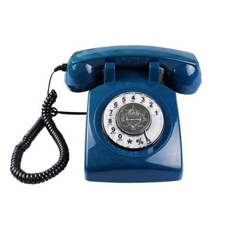 imagenes de telefonos retro tel 233 fono vintage color azul con dial giratorio vas de retro