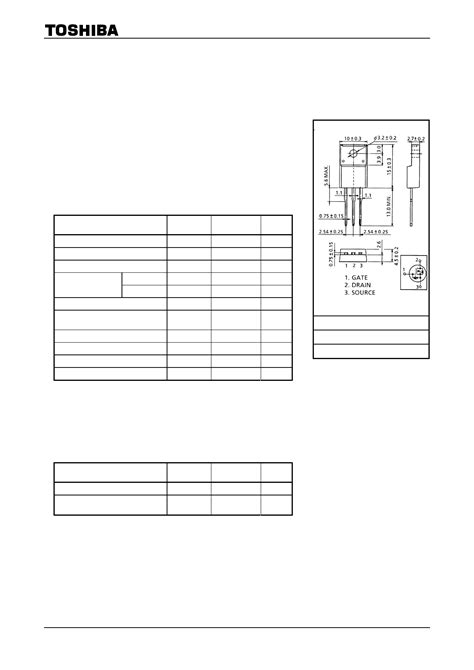 k2545 datasheet k2545 pdf 2sk2545 datasheet4u