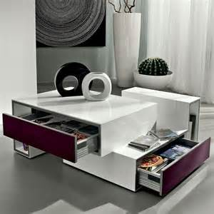 table basse design avec tiroir marika