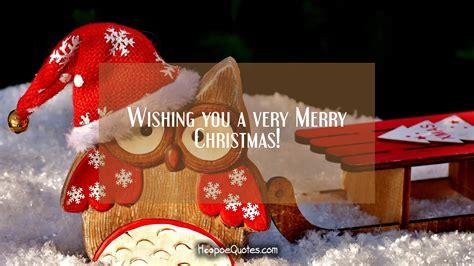 wishing    merry christmas hoopoequotes
