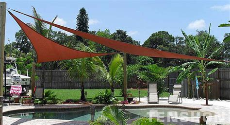 backyard sails shades pool shade sails by tenshon