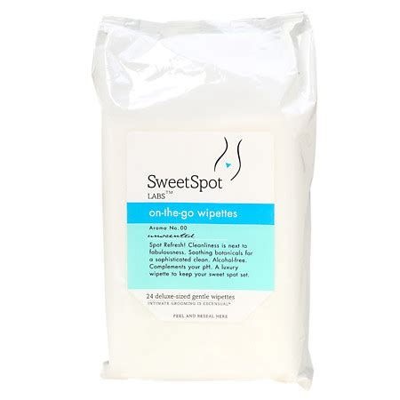 Sweetspot Labs Instant Sweetification To Go by Sweetspot Labs Spot Refresh On The Go Wipettes Unscented