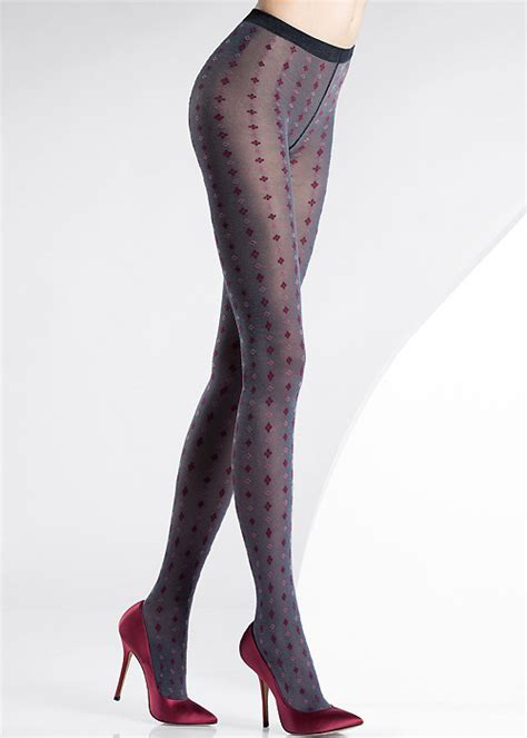 patterned tights uk pierre mantoux alba patterned tights in stock at uk tights