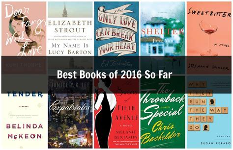 Best Books of 2016 So Far   Sarah's Book Shelves