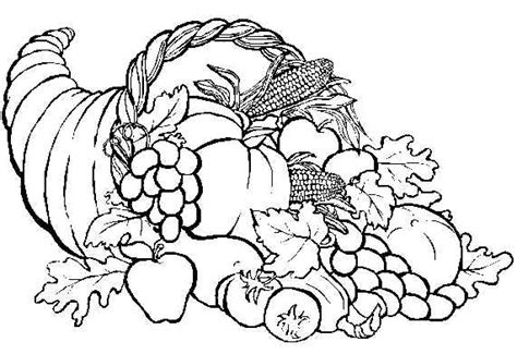 coloring page of thanksgiving food thanksgiving coloring pages dr odd