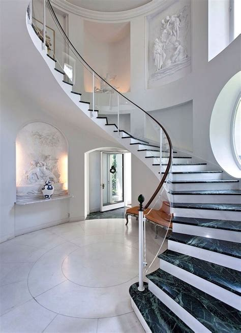 home interior design steps luxury mansions interiors foyer at the top of the